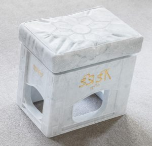 Marble Coca Cola Crate Sculpture